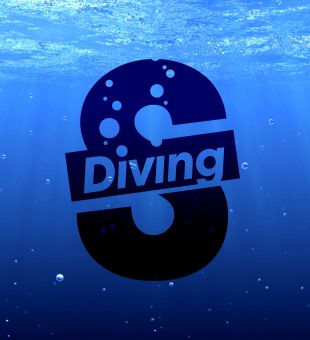 'S-Diving' logo design