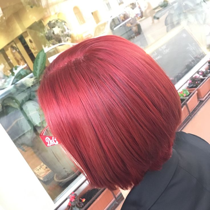 #MatrixGlobal #MatrixColor #SoRed #redhair #redcolor #Medium Cut #patkospy #bob