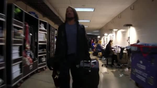 """EXCLUSIVE: AJ Styles is """"ready to rock"""" The Alamodome when he faces John Cena TONIGHT at WWE Royal Rumble!"""