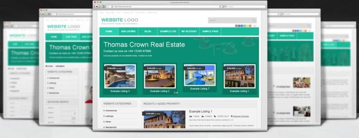 Property Classifieds Responsive Real Estate Theme for WordPress