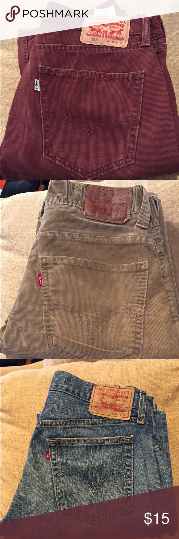 Used Levis Jeans for Men Used Levis jeans for men in good condition Levis Jeans Relaxed