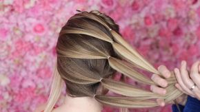 23.7 тыс. отметок «Нравится», 213 комментариев — Beth Belshaw (@sweethearts_hair) в Instagram: «Disguise thinner hair and HIDE elastics with this cross over technique 🙌🏻 Hair model…»