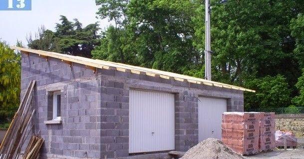 Cout D Un Garage En Parpaing Prix 20m2 Parpaings Co T De En 2020 Construction Garage Parpaing Agrandissement Maison Bois