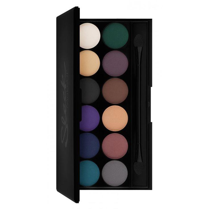 Paleta Farduri Sleek Ultra Mattes Darks V2 - Makeup Shop