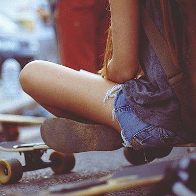Skater girl. <3 #fashion