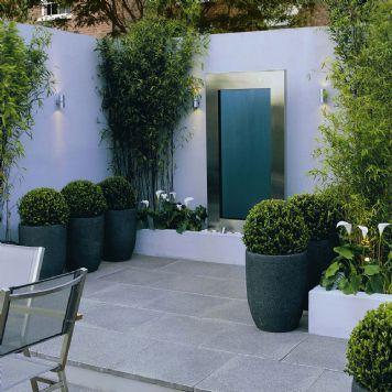 Grey paving.  For more contemporary home ideas:  www.residentialattitudes.com.au/my-design-studio/images
