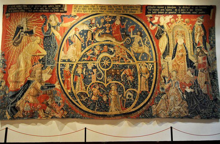 El tapiz de los Astrolabios en Toledo. Museo de Santa Cruz en Toledo