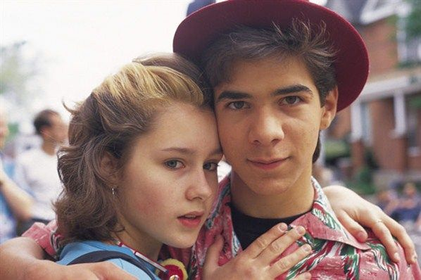 Degrassi High - Caitlin and Joey.