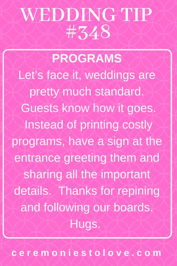 Wedding plans can quickly overwhelm you and your budget Here is one tip to save …