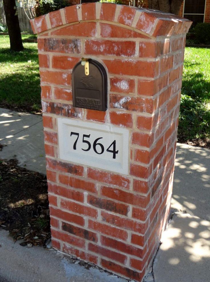 Brick – Flattop Mailbox