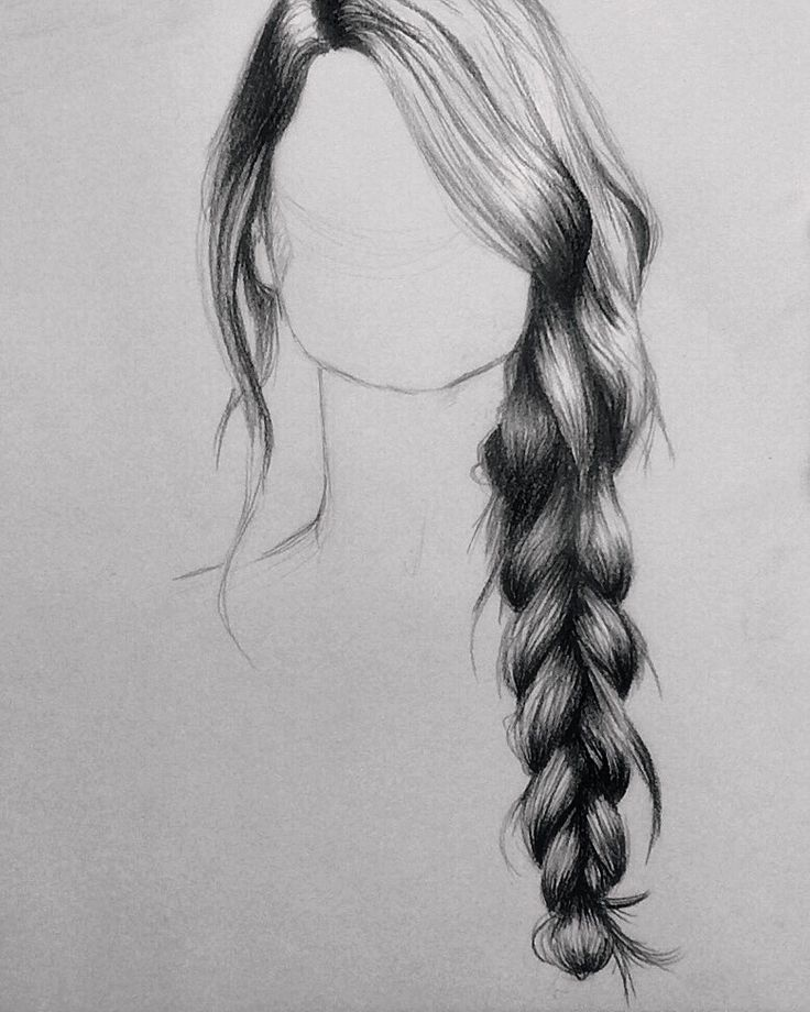 How to draw hair with pencil drawing tips more