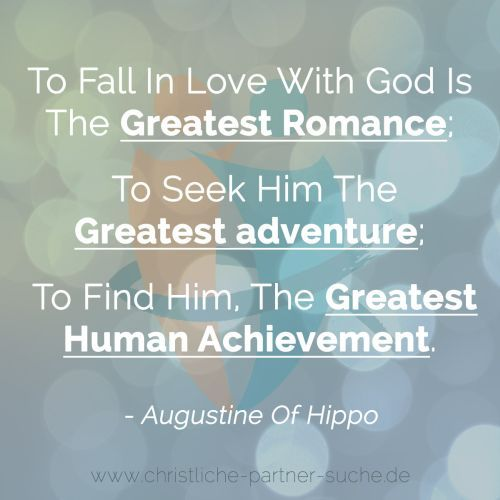 To Fall In Love With God