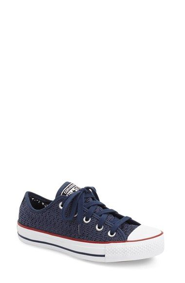 Converse Chuck Taylor® All Star® Crochet Low Top Sneaker (Women) available at #Nordstrom