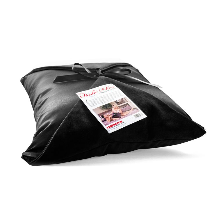 This lovely pillow has a silken-lined hollow interior that effectively conceals just about any intimate piece you'd like to keep within easy reach in the bedroom. Supremely flawless and boasting an impressive 12 x 12 x 4 inches (30.5 x 30.5 x 10.6 cm) of capacity, this pillow is absolutely deserving of the phrase 'Hidden Within Plain Sight.' Machine washable