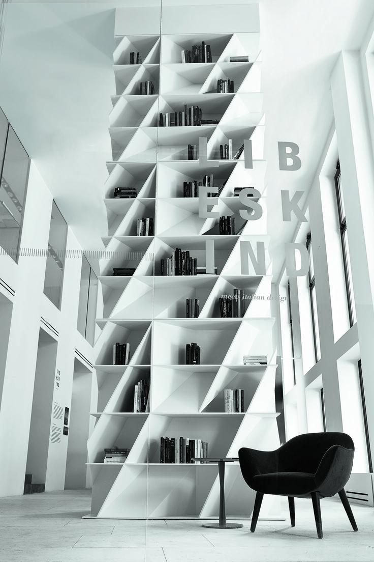 Milan_April 2014  Daniel Libeskind for Poliform Varenna - Web bookcases