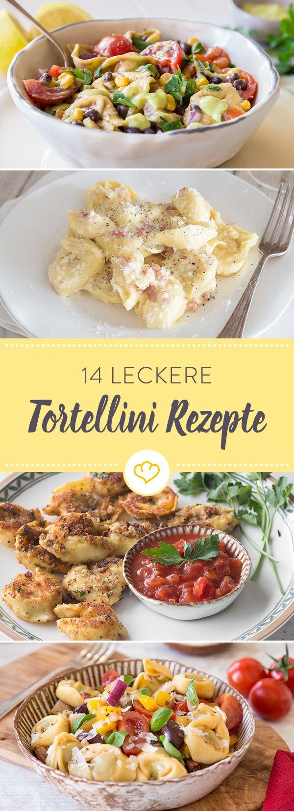 Tortellini sind überall bekannt und beliebt denn man kann sie in den verschiedensten Arten zubereiten. So wie in diesen 14 leckeren Rezepten!