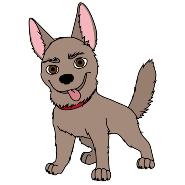Нарисованые собачки картинки