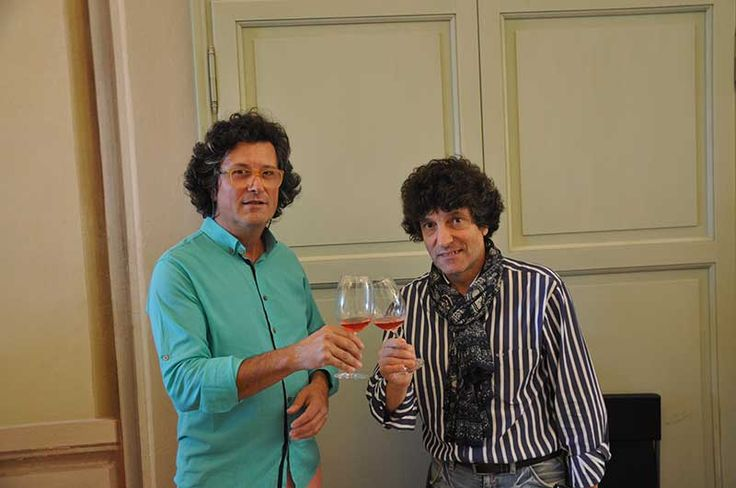 Toasting with Mario Zuffada