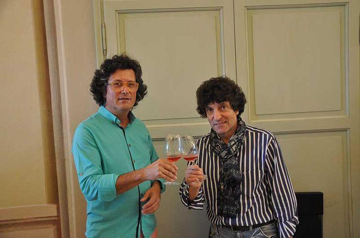 Toasting with Mario Zuffada