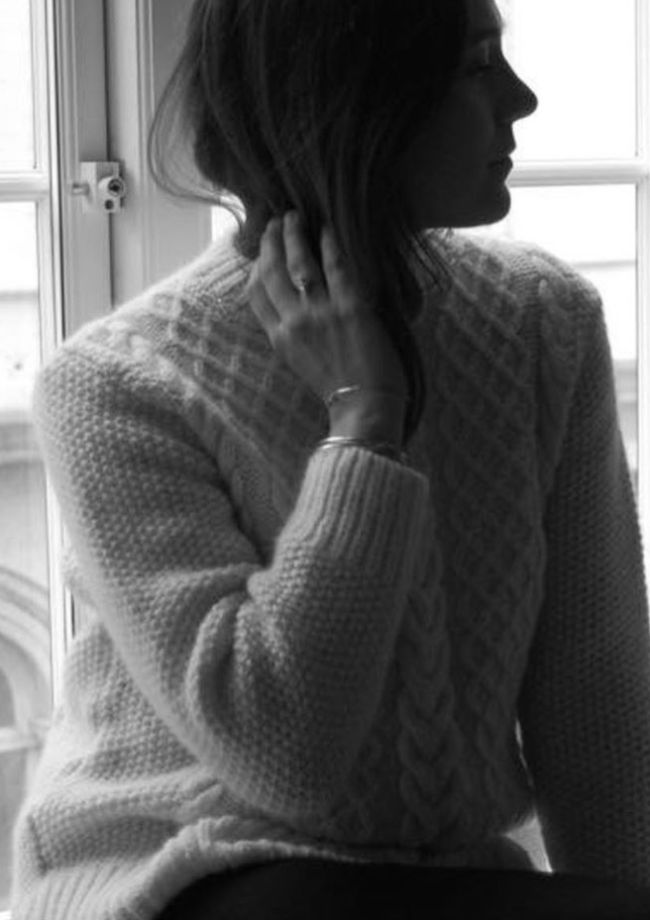 Handknitted Danish wool sweater - Sustainable luxury from Just Fashion
