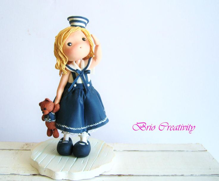 SAILOR DOLL by Carmela Iadicicco (torte con brio)