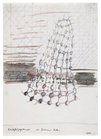 Sigmar Polke, Potato Pyramid in Zwirner's Basement (1969): Michael Werner Mar '14