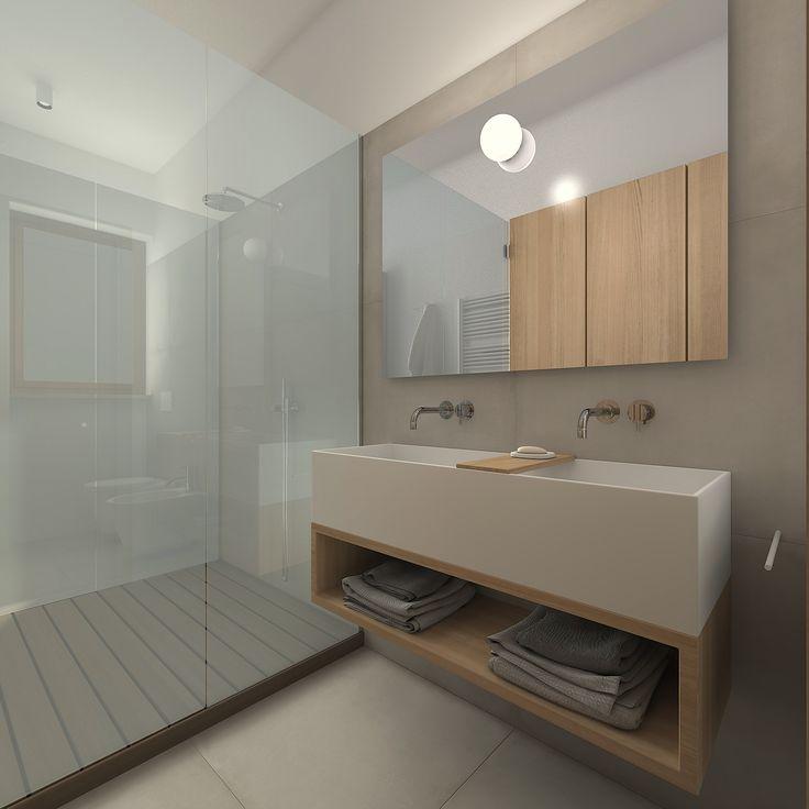 Gli spazi limitati possono diventare quelli più originali con un design unico..!! Piatto Box doccia su misura stile SILVERPLAT
