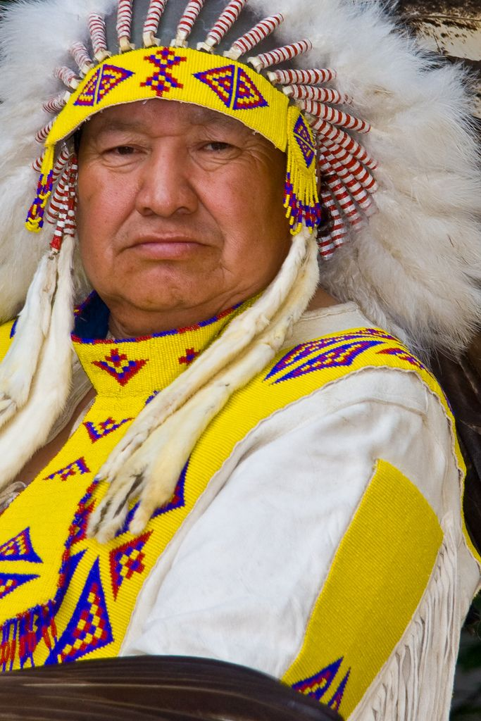 Native Indian, Calgary Canada.
