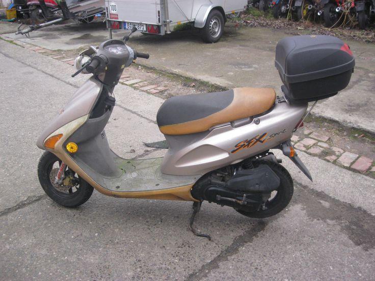 Honda SFX 50 cm³ Roller 12217km zum wieder aufbauen oder schlachten Nr.21