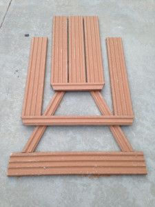 Composite Toddler Picnic Table -