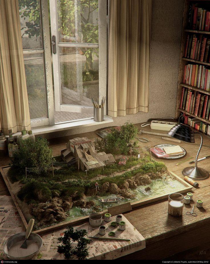 CGTalk - Creating Worlds, Alberto Trujillo (3D)