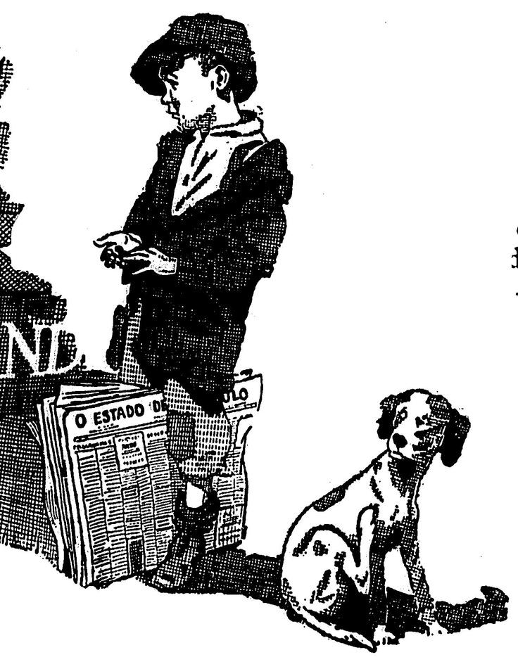 Detalhe de anúncio de veículo da marca Oakland, publicado em 20 de junho de 1926.  http://blogs.estadao.com.br/reclames-do-estadao/2010/10/12/pequeno-jornaleiro/