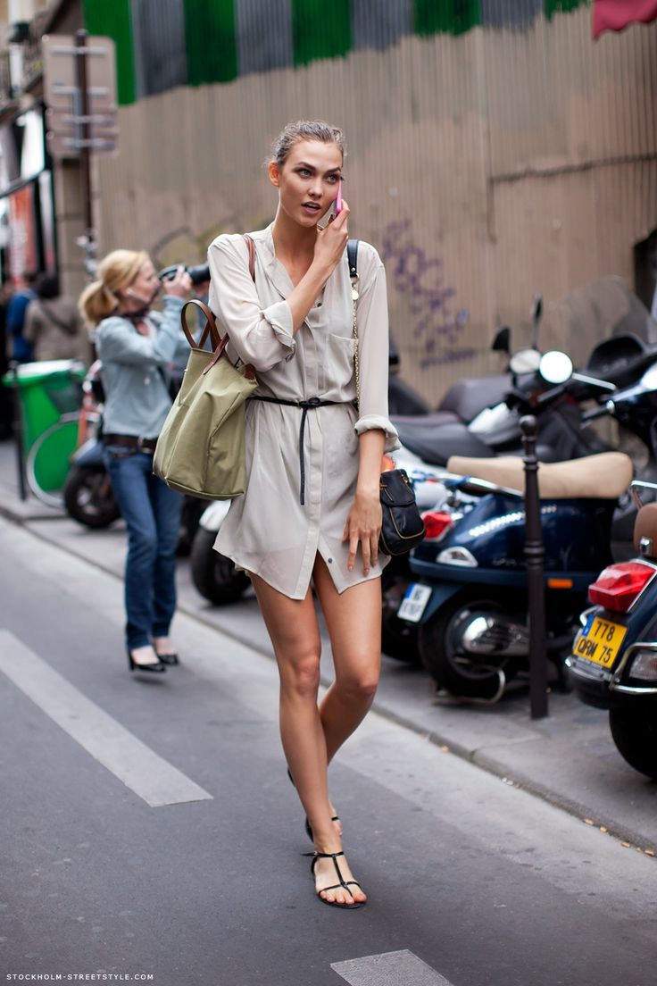 stockholm streetstyleModels Off Duty, Urban Chic, Summer Outfit, Fashion Models, Street Style, Karlie Kloss, Dresses Casual, Style Summer, Carboxylic Block