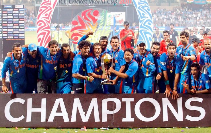 India Team ICC Cricket World Cup Wallpaper free desktop