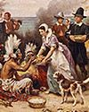 Primary Source Set for Teachers - Thanksgiving: Study photographs, paintings, letters, and official proclamations to discover historical perspectives on American Thanksgiving holiday traditions beginning with the pilgrims who came to North America on the Mayflower. Library of Congress Educational Outreach.