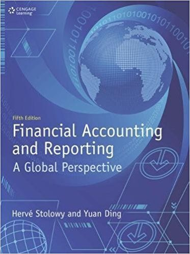 FINANCIAL ACCOUNTING AND REPORTING: A GLOBAL PERSPECTIVE de Hervé Stolowy et Yuan Ding. Contents: Part 1 Introduction to financial accounting: Accounting: The language of business. Introduction to financial statements. Financial statements: Interrelations and construction. Part 2 Major accounting topics: Regulation of accounting and financial reporting. Revenue recognition Issues. Tangible assets. Part 3 Financial statement analysis. Cote : 4-7 STO