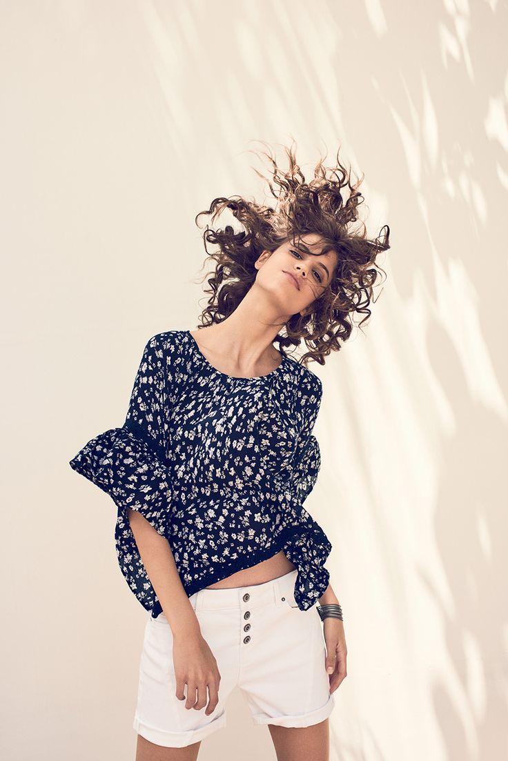 #esprit #women #blouse #whites #prints #summer