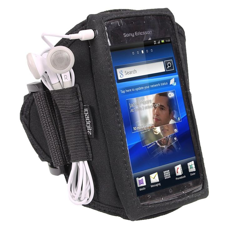iGadgitz Black Water Resistant Neoprene Sports Gym Jogging Armband for Sony Ericsson Xperia Arc S Android Smartphone Cell Phone. iGadgitz custom made neoprene armband only for Sony Ericsson Xperia Arc S. Produced from light-weight neoprene, it protects your phone from chips and scratches. Silk Printing for the volume and power buttons to allow for full functionality during exercise. Headphone tidy to tie up headphone slack. Secure adjustable armband - one size fits all. Minimum arm circ...