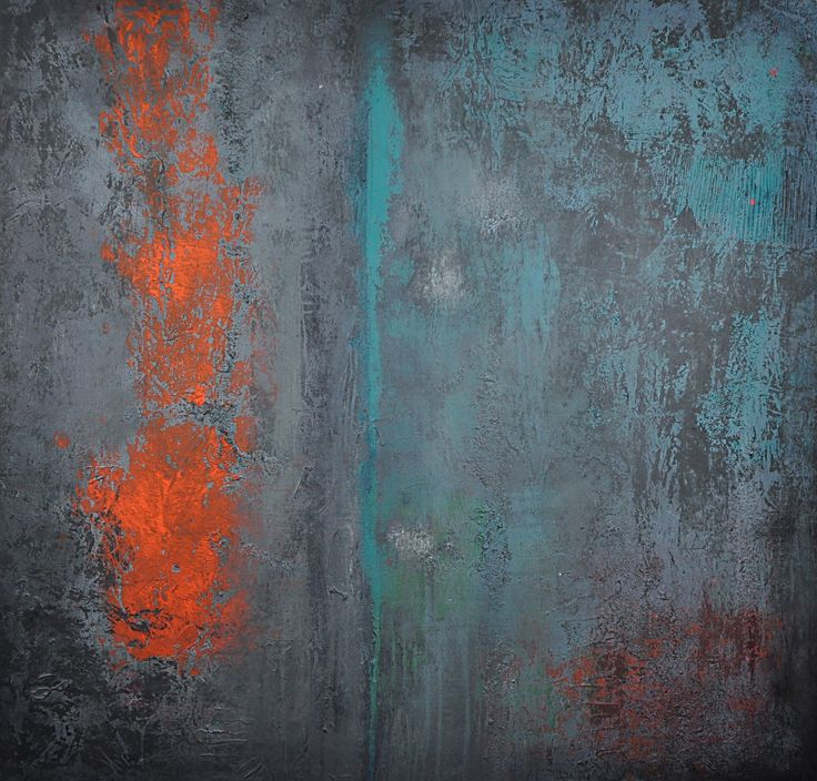 painting acrylic,abstract, Acrylmalerei, memories of Cala ...