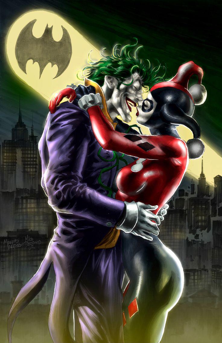 Joker & Harley Quinn by Mike Deodato Jr.*