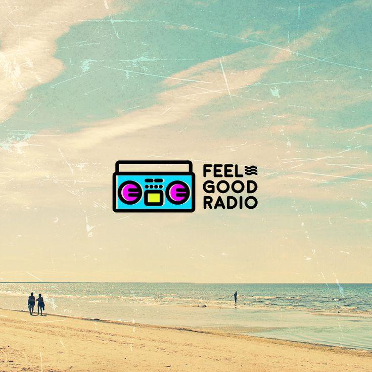 Feel Good Radio Logo Design