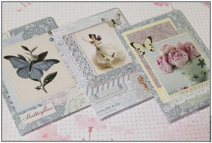 Купить Обложки на паспорт Романтика - комбинированный, обложка на паспорт, обложка на документы, обложка для паспорта