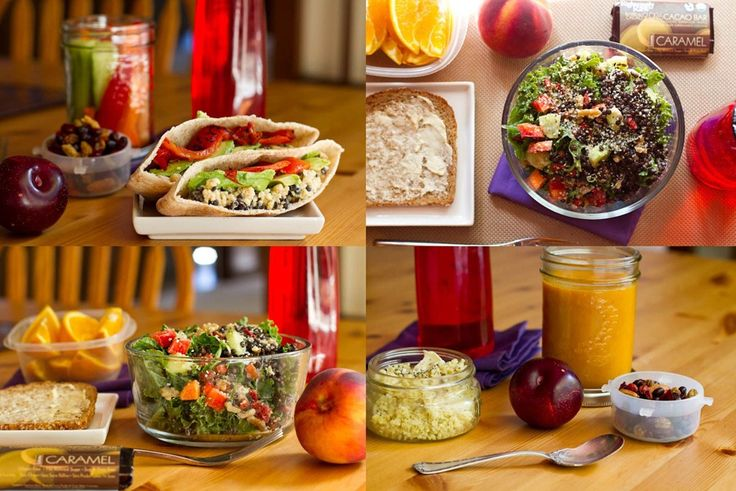 5 Make-Ahead Vegan & Gluten-Free Lunches: Part 2: Vegans Gluten Free, Make Ahead Lunches, Vegetarian Lunches, Gluten Fre Lunches, Lunches Ideas, Gluten Free Recipes, Gluten Free Lunches, Vegans Lunches, Vegan Lunches
