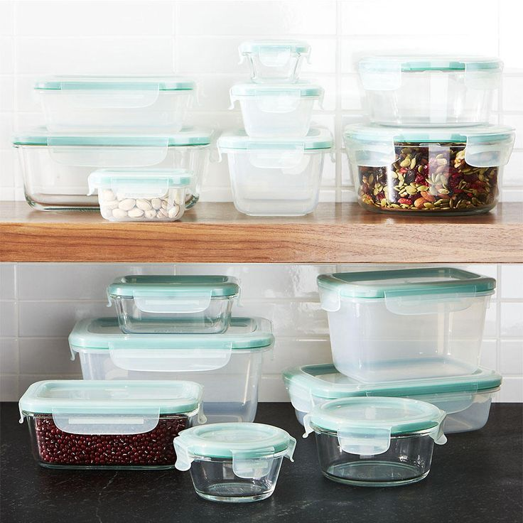 Meal planning and portion control isn't always easy. But with the right food storage containers, the Sunday-night task is easier than ever.