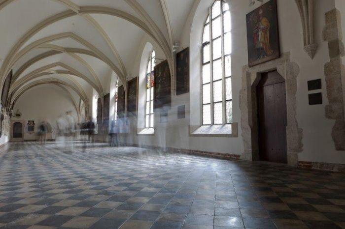 Krakowskie krużganki po remoncie. #dominikanie #klasztor #kraków #cracow