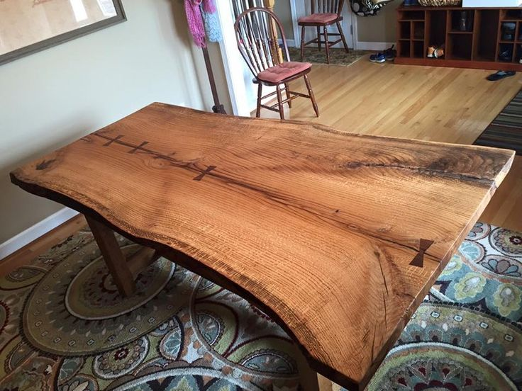 Live Edge Dining Table Inspiration For Your Dining Room