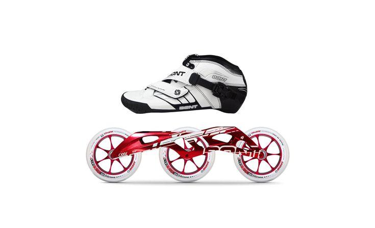 "Patina en el hielo con tus Bont de carreras.  Las botas Bont a 195 de distancia se ajustan perfectamente al chasis Sonic 2000 o Ultrasprint para patinaje en hielo!! ST Sonic 2000: longitud 15"" - 17"" ST Ultrasprint: longitud 14.5"" - 17"" #bont | #lighterstrongerfaster | #Z | #jet | #pursuit | #enduro | #semirace | #ultrasprint | #Sonic2000 | #bontsuramerica"