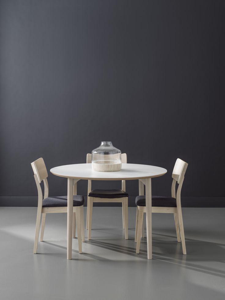 Flex collection Design Markus Johansson/ Anton Björsing  Piccolo Chair Design Bo Armstrong for Hans K