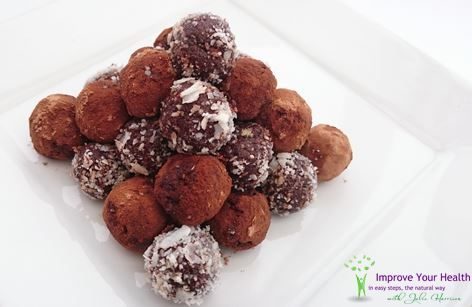 Raw Coffee and Chocolate Truffles