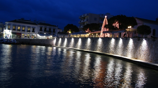 Christmas at Spetses island. Dapia, Spetses, Saronic gulf, Greece www.blogtravels.gr